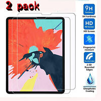 2X Tempered Glass Screen Protector for Apple iPad Pro 12.9 Inch 3rd Gen 2018 US