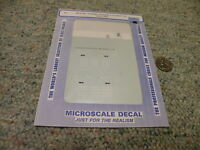 Microscale decals N 60-4196 Southern coil steel car 1974-85  E36