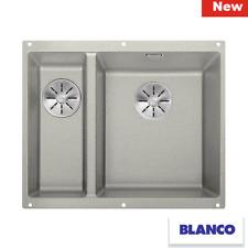 Blanco SUBLINE 340/160-U 523561 Pearl grey Silgranit Undermount Kitchen Sink!!!