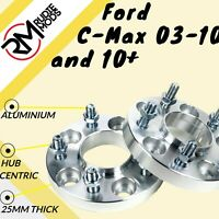 Ford C-Max 03-10 5x108 25mm Hubcentric wheel spacers 1 pair - show use only