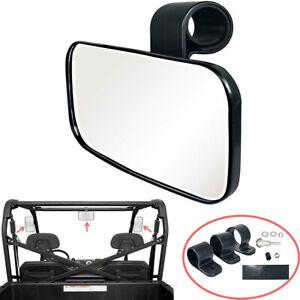 360° Rotation Motorcycle UTV ATV Rear View Side Mirror for  Rhino Reliable