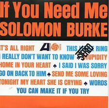 ★☆★ CD Solomon BURKE	If you need me - MINI LP REPLICA 12-track CARD SLEEVE ★☆★