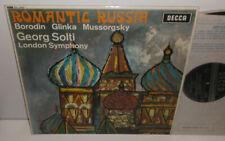 SXL 6263 Borodin Glinka Mussorgsky Romantic Russia LSO Solti ED2 WBG