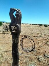 Vintage Barb Wire Rusty Western Art 10 FEET LONGHORN SURVIVOR RANCH