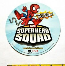 RARE 2007 MARVEL SUPERHERO SQUAD PROMO MAGNET - HASBRO SPIDERMAN FIGURE TOY