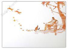 Affiche Pratt Hugo Corto Maltese Aquarelle 47x65 cm