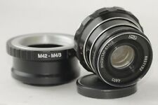 INDUSTAR 61 L/D 2.8/55mm Soviet Lens +adapter Micro 4/3 M4/3 USSR Vintage Photo