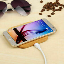 Deviced Wireless Charger Ladegerät Holz Bambus Qi Für Samsung iPhone Original