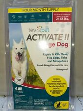 TevraPet Activate ll Large Dog 4 ct. Flea and Tick Topical 21-55 lbs.