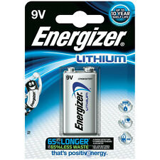8x litio Energizer Ultimate 9v Batería de bloque 6lr61
