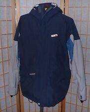 Jacket Quiksilver Snow Gore-Tex Heavy Weather Series Ski Snow Mens M Blue Gray