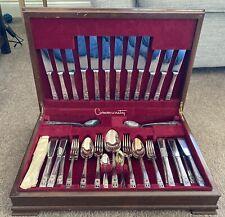 More details for vintage community art deco cutlery set for 6