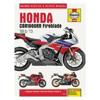 For Honda CBR1000RR 08-13 Haynes Manuals Honda CBR1000RR 2008-2013 Repair Manual