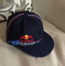 Red Bull Racing F1 Team Gorro Gorra De Béisbol Azul marino-Oficial Vettel Talla 7 1/2 en muy buena condición