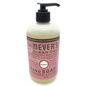 Mrs Meyers Clean Day Rosemary Hand Soap Olive Oil Aloe Vera Free Ship
