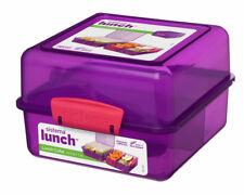 enfants école meilleur cadeau BPA Free Sistema Sandwich Lunch Box 2Ltr Multi Usage Bureau