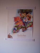 2003 Walt Disney World 100 Years of Magic Celebration ANIMAL KINGDOM Poster