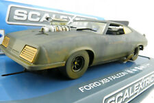 SCALEXTRIC C3983 Ford Falcon XB Mad Max 2 Interceptor Slot Car Matte Black 1:32