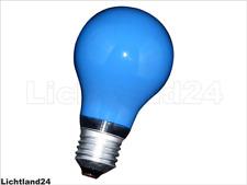 10 x Glühbirne 25W E27 Blau Glühlampe 25 Watt Glühbirnen Glühlampen Party Deco
