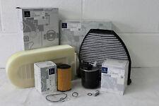 Genuine Mercedes-Benz C218 CLS 220 250 Diesel OM651 Engine Filter Service Kit
