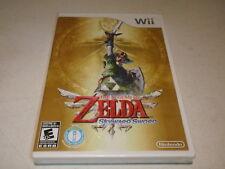 The Legend of Zelda: Skyward Sword (Nintendo Wii, 2011) Sealed Brand New