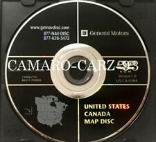 2002-2010 Hummer/GMC/Chevrolet/Cadillac Navigation DVD Map Part #15906573U