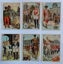 Sammelbilder - Regimente - Serie 5563 Nr. 1-6 - Belgien / Russland
