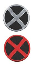 """LOT OF 2 X-MEN MOVIE HEROES PATCH 3.5"""" INCHES IRON ON SEW ON"""