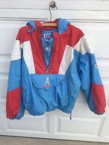 Vintage Houston Oilers Starter Jacket Size Mens XL. NFL Pro Line Coat