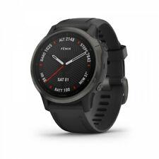Garmin Fenix 6s Zafiro Reloj GPS Carbono Gris Dlc Con Banda Negra 010-02159-24