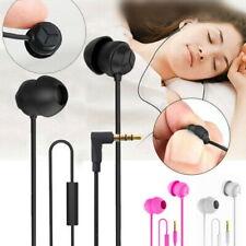 Sleep Earphone Anti-Noise In-Ear Ultra-Soft Headphones Earbuds Headset Phones