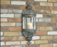 Wall Sconce Candle Holder Lantern Candles Home Garden Vintage Antique Style