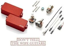 EMG P HZ RED P BASS PASSIVE PRECISION REPLACEMENT PICKUP POTS & WIRING PHZ