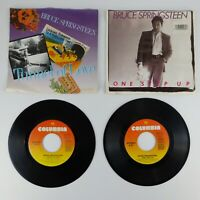 "Lot of 2 Bruce Springsteen 7""  One Step Up/Roulette Tunnel of Love/Two for Road"