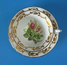 ROYAL CHELSEA  CUP & SAUCER   EXCELLENT CONDITION  RINGS NICELY   PINK ROSE BUDS