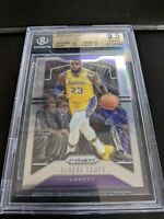 2019-20 Prizm Lebron James #129 Mint Los Angeles Lakers Gem Mint BGS 9.5