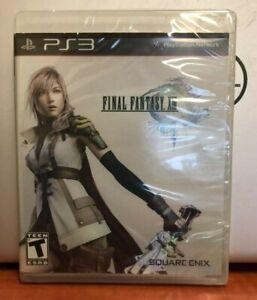 Final Fantasy XIII (Sony PlayStation 3, 2010) NEW