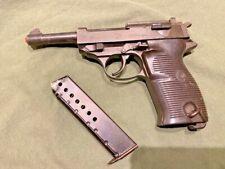 Vintage Replica Walther P38 SMG MGC Prop Gun Pistol Model P-38
