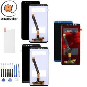 Ecran LCD + Vitre tactile Honor 9 Lite Noir Bleu Gris LLD-L21 LLD-L31