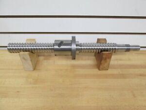 NSK PRECISION GROUND BALLSCREW; 10mm PITCH, 40mm THREAD DIA ~NEW~