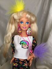 Vtg Mattel 1990'S Troll Barbie W/Shoes And Accessories
