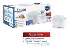 Pack 6 cartouches filtrantes Brita Maxtra+ pour carafe - filtre à eau MicroFlow