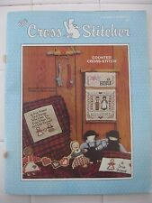 THE CROSS STITCHER MAGAZINE, 1987, VOLUME 4, NUMBER 3