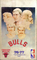 1976-77 Chicago Bulls Basketball Media Guide, Artis Gilmore,Norm Van Lier ~ Fair