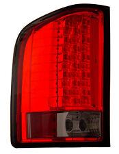 Chevy Silverado 07-13 LED Tail Lights Red Smoke