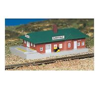 Bachmann Plasticville PASSENGER STATION Built-Up N Scale 45908 NEW