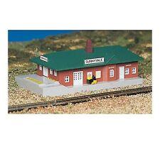 Bachmann Plasticville PASSENGER STATION Built-Up N Scale 45908 NEW