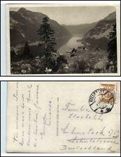 HALLSTATT Stempel a/ AK Österreich um 1925/30 auf Echtfoto-AK Hirschbaualm