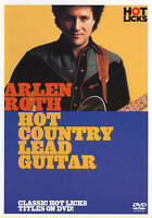 ARLEN ROTH HOT COUNTRY LEAD GUITAR HOT LICKS DVD!  BRAND NEW SEALED GIFT QUALITY
