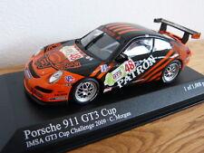 Porsche 911 997 GT3 Cup IMSA Challange 2009 C. Morgan Minichamps Modellauto 1:43
